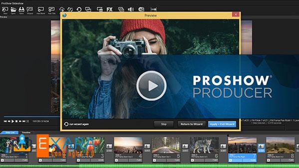 Phần mềm làm video Proshow Producer