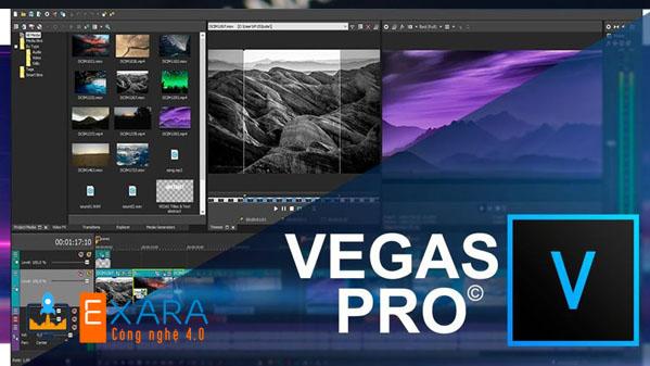 Phần mềm làm video Sony Vegas Pro