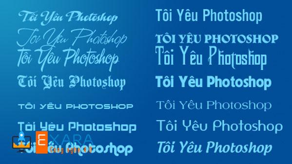 Bộ Font chữ TMF Việt Hóa đồ sộ với nhiều font từ cơ bản tới phức tạp