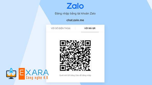 Bước 1: Đăng nhập Zalo trên máy tính