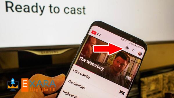 Bấm vào biểu tượng Chrome Cash trên Youtube để kết nối
