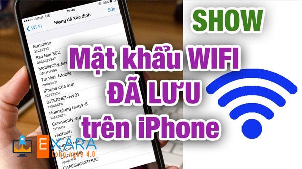 Cách Xem Pass Wifi Trên iPhone Chưa Jailbreak Nhanh Chóng