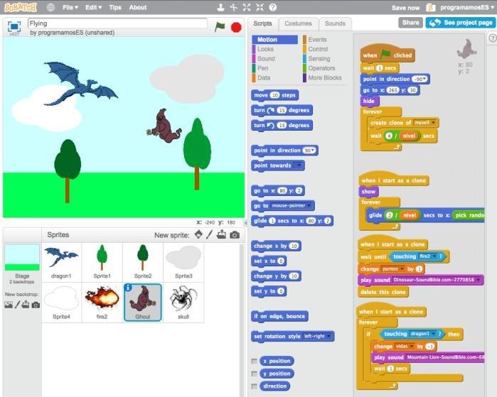Scartch là phần mềm dạy trẻ em lập trình miễn phí