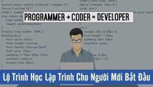 Lộ trình học lập trình cho người mới bắt đầu thế nào là hợp lý