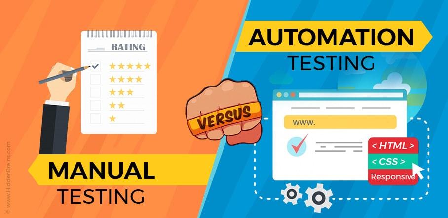 Tester có 2 hướng Manual Testing va Automation Testing